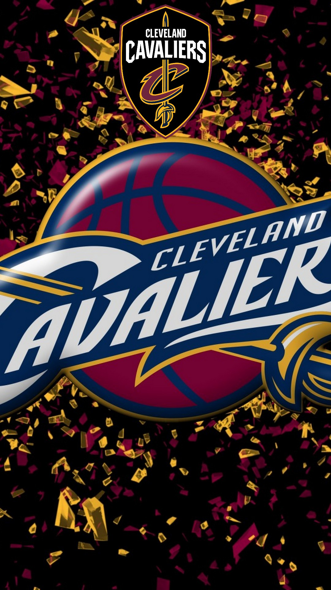 Wallpaper Cleveland Cavaliers iPhone 1080x1920